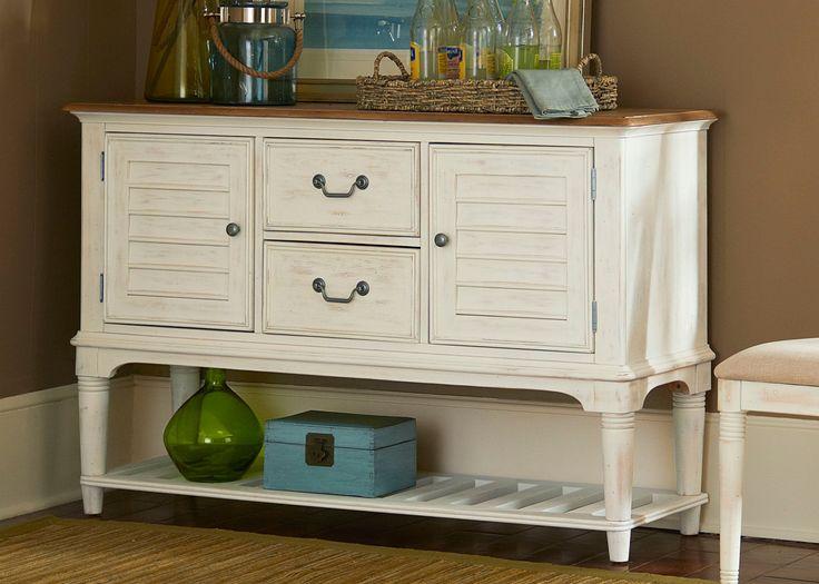 Liberty Furniture Sumner Leg Server