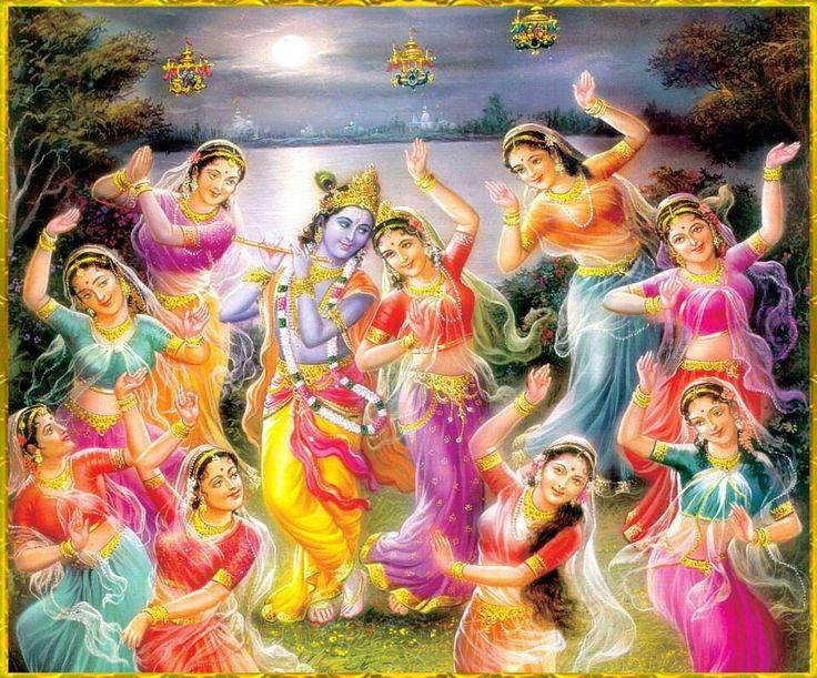 Lord Krishna With Gopis Wallpapers | www.pixshark.com ...