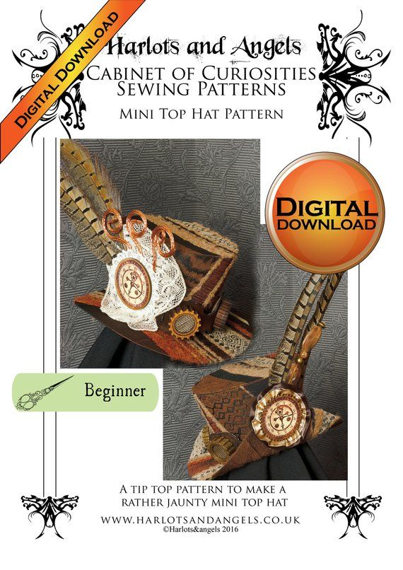 Steampunk Hat Pattern 992a1d21043