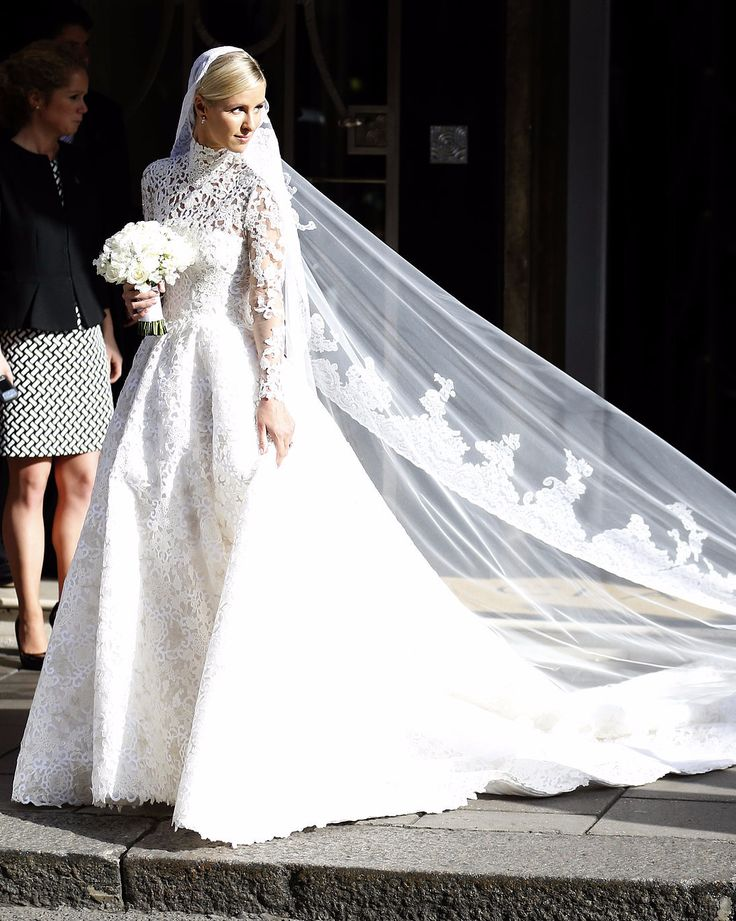 Nicky Hilton wears a Valentino dress wedding - 25 Photos That Will Convince You to Go Modest on Your Wedding Day