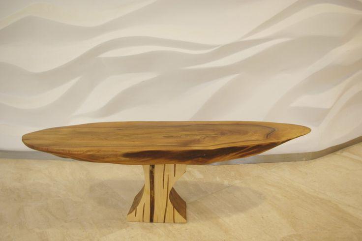 Stolik kawowy orzech od Art Wood Kawkowo