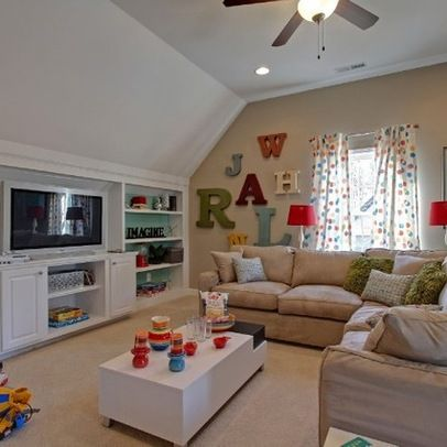 Room Over Garage Design Ideas from the natos attic renovation before and after pictures Bonus Room Design Ideas Pictures Remodel And Decor Page 7 Carriage House Pinterest Bonus Rooms Pictures And Built Ins