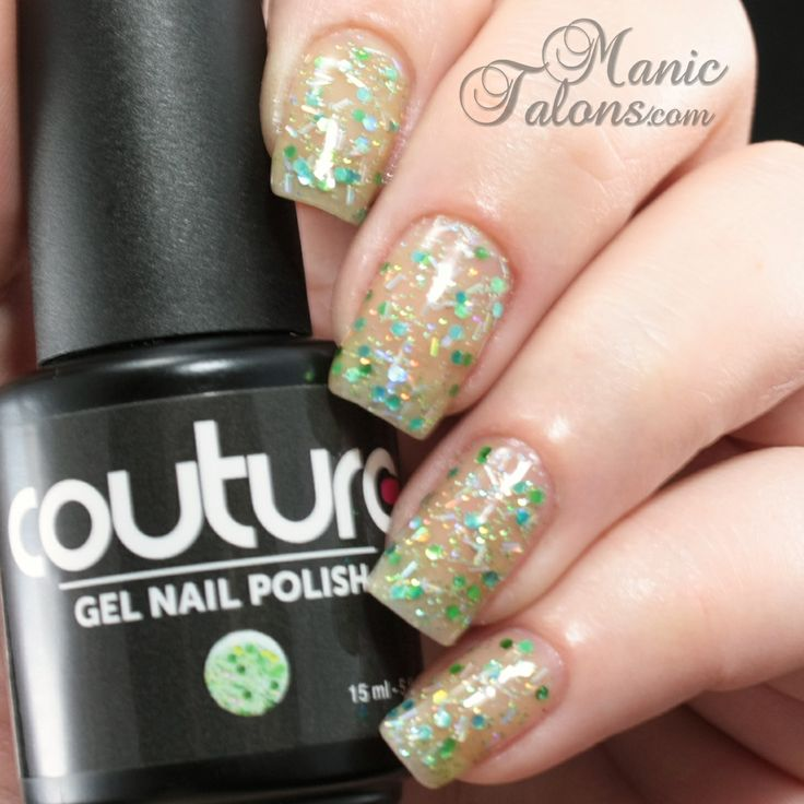 Couture Gel Polish Sugar Daddy Swatch #soakoffgel #gelpolish