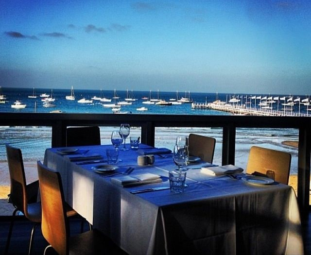 Sunset dining at Sorrento - SSCBC