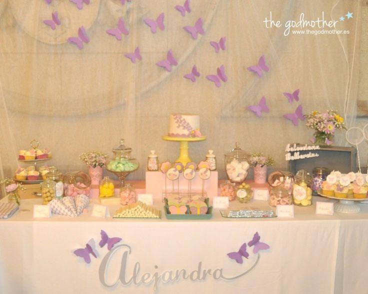 La 1 comuni n de alejandra la coleccionista de mariposas - Decoracion de bares ...