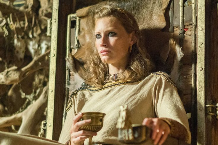 Vikings post-mortem: Departing actor talks 'dramatic' death - When Alyssa Sutherland first appeared on Vikings at the end of season 1 as the mysterious and tantalizing Aslaug, she immediately shook up the dynamic of History's epic series. She was the daughter… | Vikings Season 4B Episode 14 'In the Uncertain Hour Before Morning'