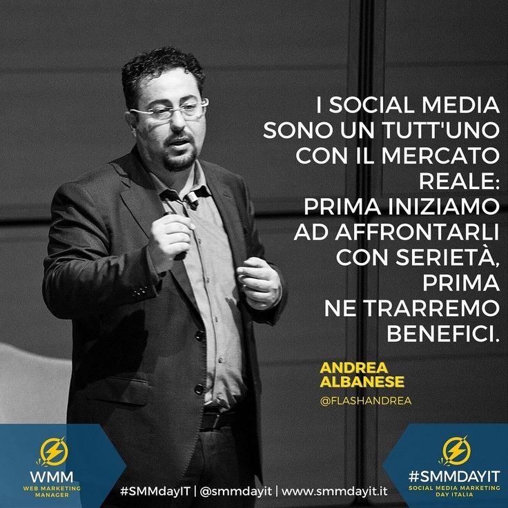 #SMMdayIT #Citazioni by @albaneseandrea #smm #social #socialmediamarketing #socialquotes #socialmediatips #influencer #influencermarketing #strategy #socialmediaupdates #socialmediaevents #marketing #sales