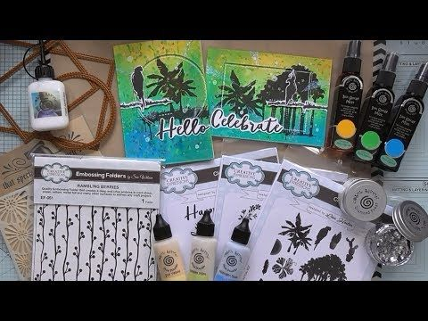 Tropical Grunge in Carnival Colours :D - YouTube