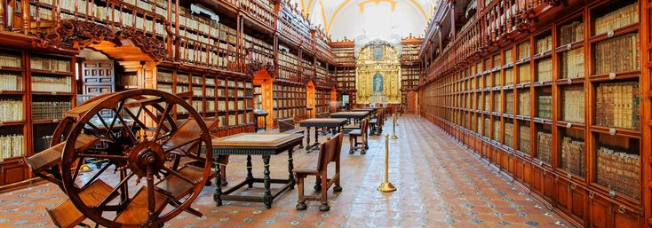 Ruta por las bibliotecas más impresionantes de México. Te invitamos a visitar estas bibliotecas que son unas auténticas obras de arte por dentro y por fuera.