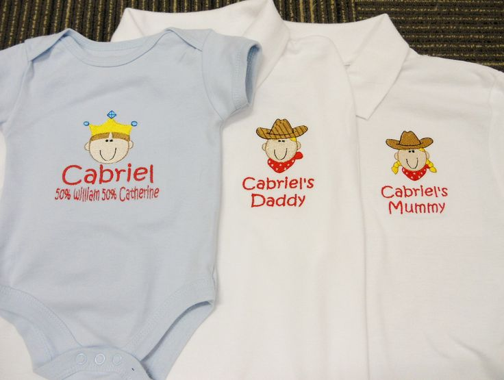 King vs CowBoy vs CowGirl! Who Win? Personalised Polo Shirt embroidery by ThatCornerShop. #personalisedgifts #birthdaygifts #giftsforhim #giftsforher #giftideas #embroidery