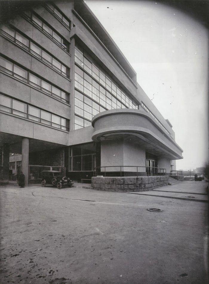 Pravda Newspaper Factory, Moscow, Russia (1931)