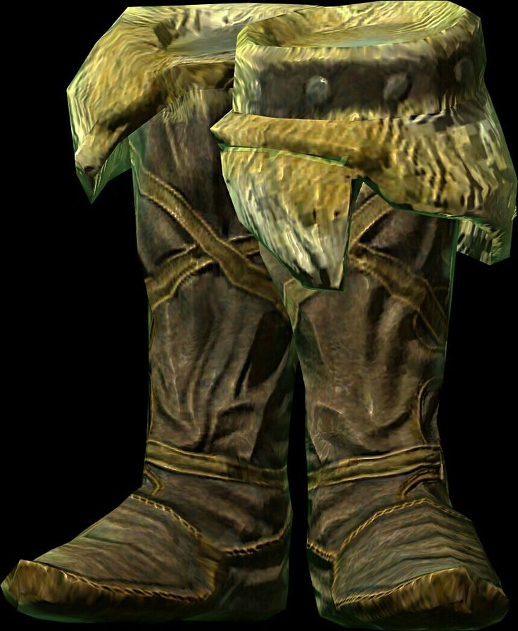 Movarth's Boots  BASE ARMOR:5 Weight:1 BASE VALUE:792 Additional Effects: 15% increase in Sneak Class: Light Armor, Boots