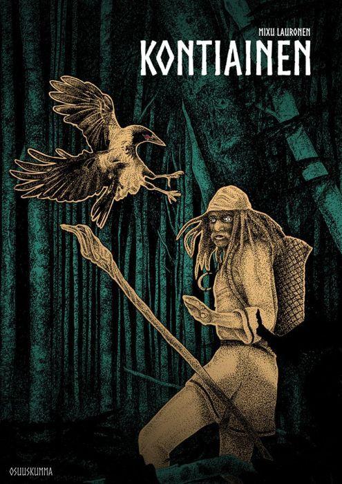 Kontiainen - Mixu Lauronen :: Julkaistu 21.4.2018 #fantasia #historiallinenfantasia #novellikokoelma
