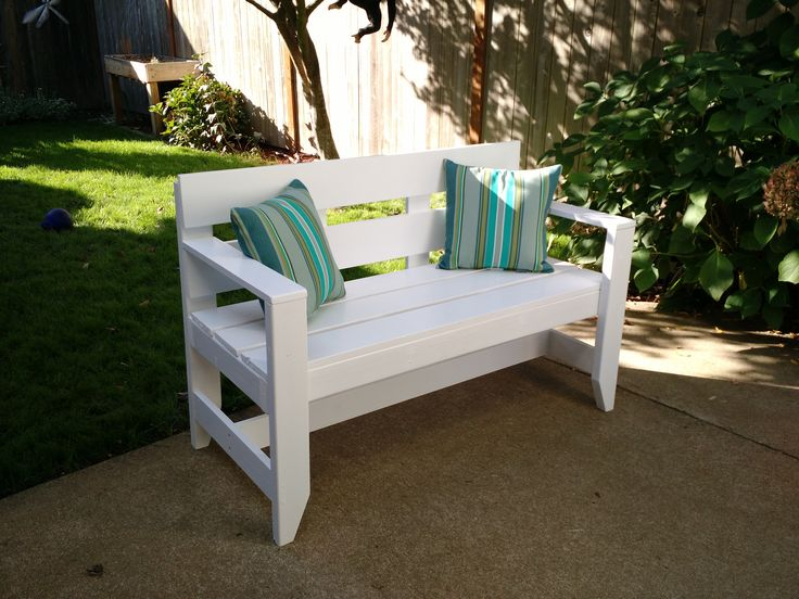 The 25 best ana white bench ideas on pinterest white outdoor bench do it yourself home projects from ana white solutioingenieria Choice Image