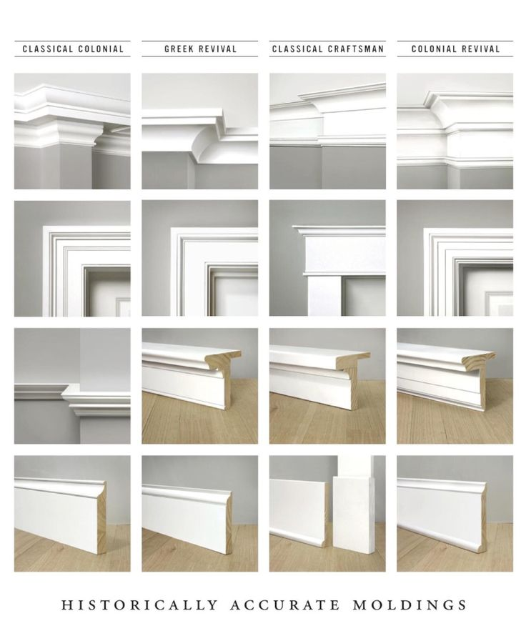 Moldings House In 2019 Baseboard Styles House Trim Baseboards