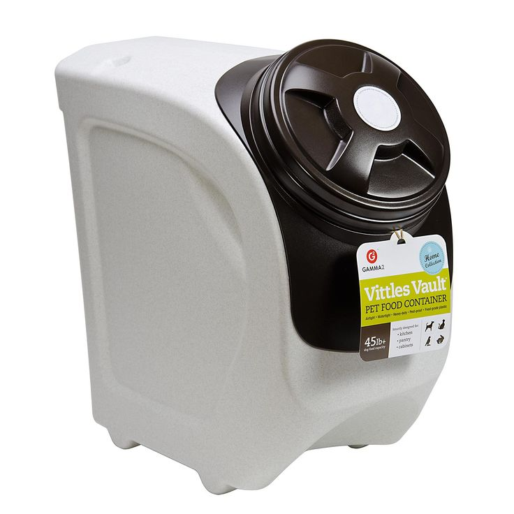 Gamma Vittles Vault Home Stackable Pet Food Container, Holds 45 lbs.