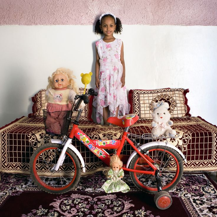 Children and their favorite toys around the world.