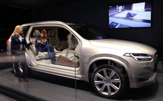 【上海モーターショー15】ボルボ Xc90 新型、「助手席がない」コンセプトカー