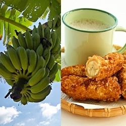 Pisang Goreng (Banana Fritters) and other Malaysian goodies
