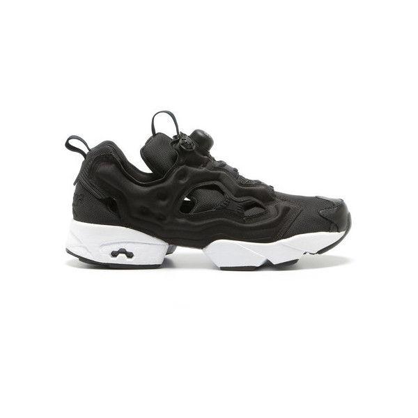 Reebok INSTA PUMP FURY OG ($160) ❤ liked on Polyvore featuring shoes, pumps, sneakers, reebok footwear, reebok pumps, reebok shoes and reebok