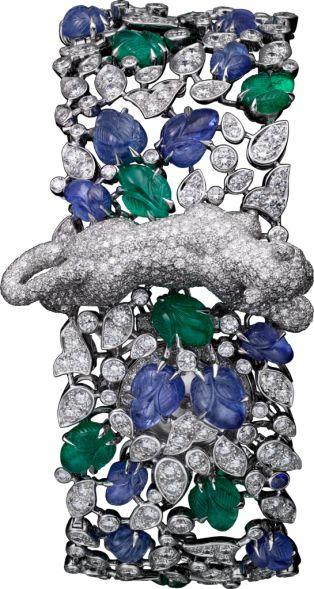 Часы категории Высокое ювелирное искусство Белое золото, изумруды, сапфиры, бриллианты Clothing, Shoes & Jewelry: http://amzn.to/2iTBsa9