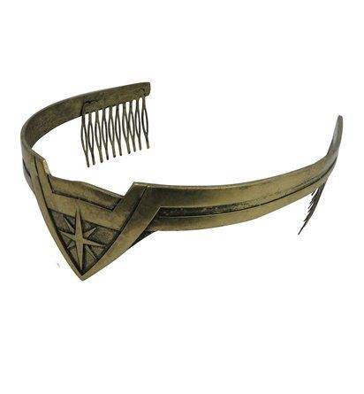 This sturdy, movie-accurate Wonder Woman Tiara is the perfect consumer grade reproduction of Wonder Woman's sacred headpiece managing her divine mane! $16.99 June 2017