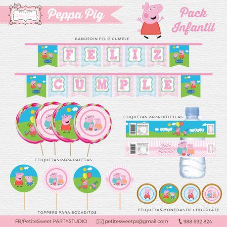 PEPPA PIG IMPRIMIBLE GRATIS