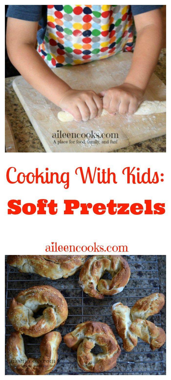 ... soft pretzels and cinnamon sugar soft pretzels. Recipe from
