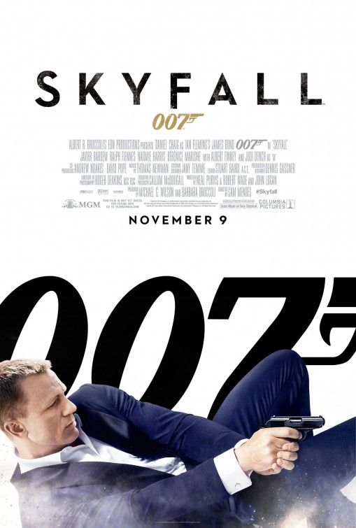 Skyfall 007.   Action packed as always.  Hated to see Sean's original car blown up!  Ouch!