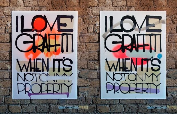 I Love Graffiti When It's Not On My PropertyLimited Graffiti, Street Art, Property, Roid Editing, Dope Art, Graffiti Posters