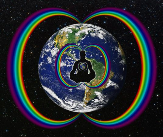 El Arco Iris Circumpolar : Un Estabilizador Giroscopio Gravitacional Toroidal : Las Cromáticas Entonadas de la Quinta Fuerza Galáctica.  www.xochipilli.wordpress.com