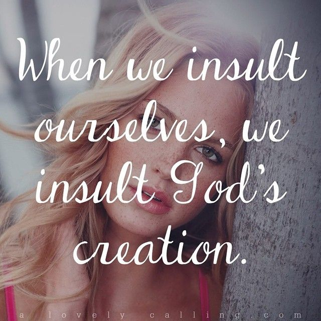"""""""When we insult ourselves, we insult God's creation."""" -New blog post! """"Obsessed With Your Own Beauty"""" Post collaboration with @wholemagazine {LINK IN BIO}"""