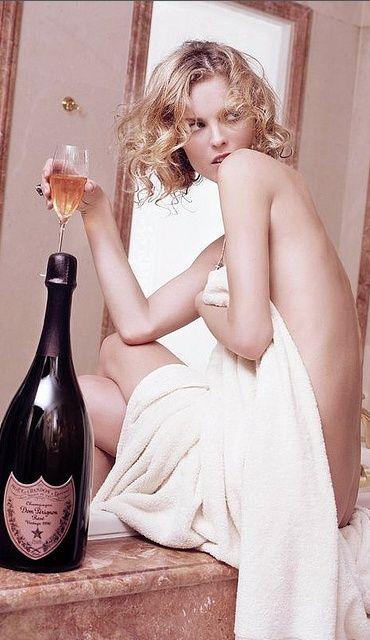 Like a champagne life (emilanton: Dom P.)
