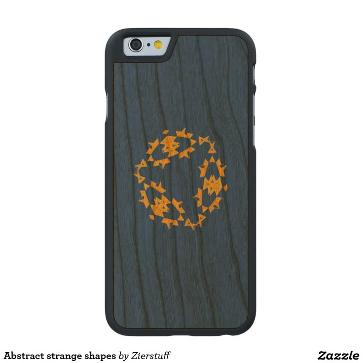 Abstract strange shapes carved® cherry iPhone 6 slim case