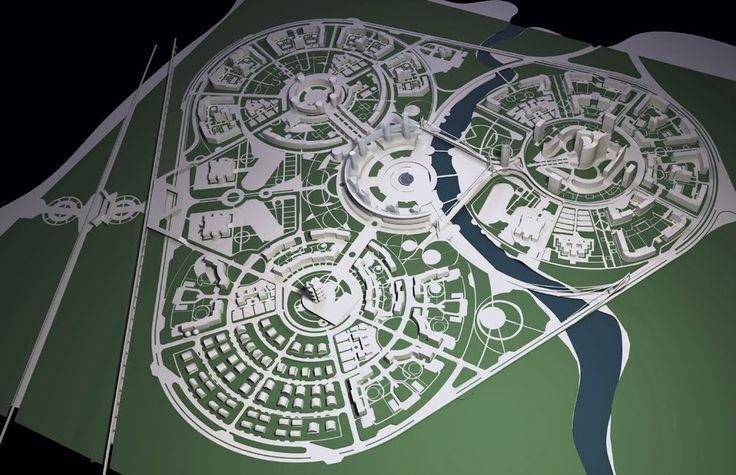 планировка городской среды