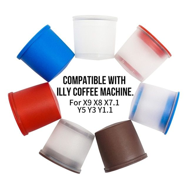 Refillable Plastic Coffee Capsules For Illy Coffee Machine