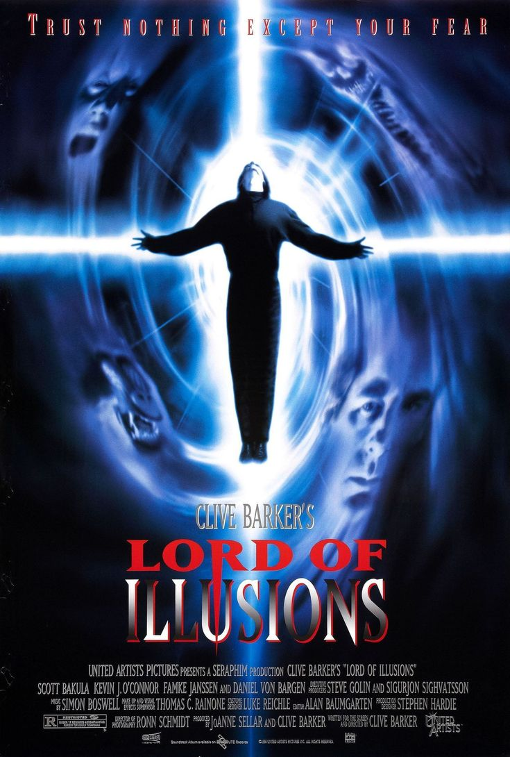 All Flesh Is Erotic Flesh Horror & Sci-Fi & Action, #433 Lord of Illusions - Clive Barker 1995