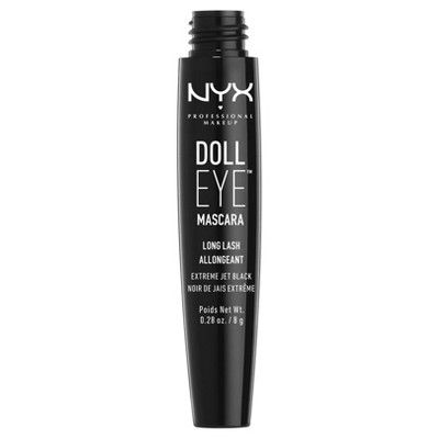 Nyx Professional Makeup Doll Eye Mascara Long Lash Black - 0.28oz
