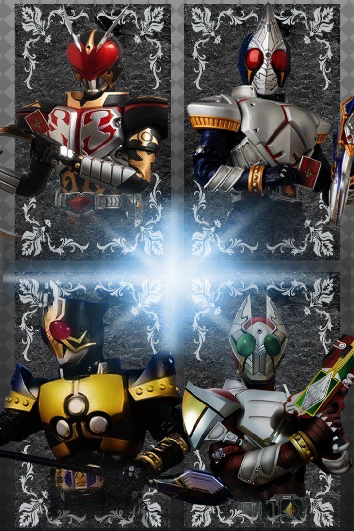 Kamen Rider Blade Garren Chalice Leangle 3 By Phonenumber123 Kamen Rider Kamen Rider Ryuki Rider