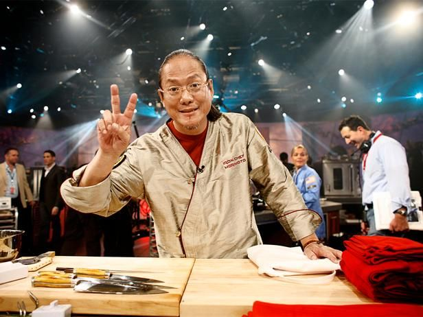 Iron Chef Masaharu Morimoto tells Food Network Magazine how he dropped 40 pounds and gives us a low-cal recipe.