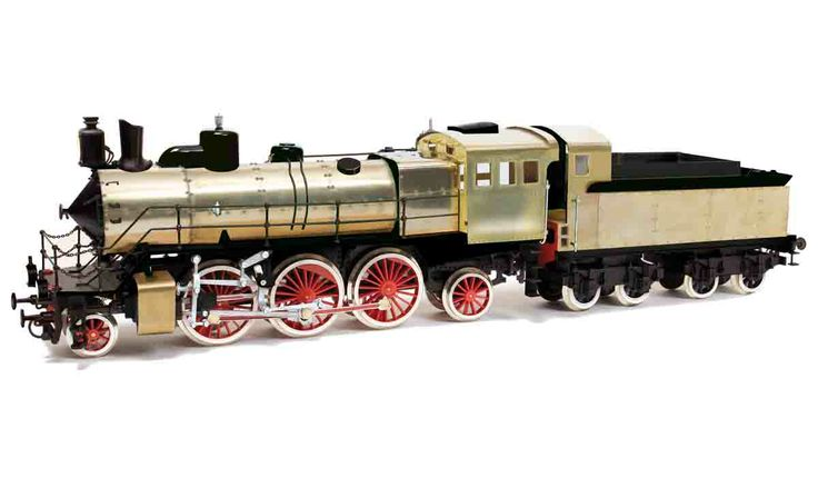 Locomotive C-68. Model train.