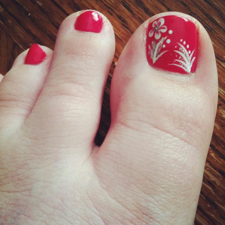 Toes design! ❤
