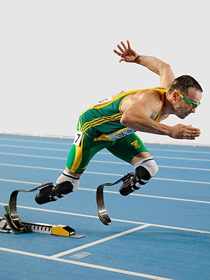Oscar Pistorius - I know he's not American...but he definitely has one of my favorite stories of the 2012 games.  He's inspiring...