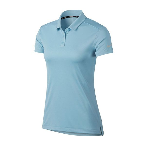 Nike Ladies Plus Size Dry Polo Short Sleeve Golf Shirts Assorted... ($55) ❤ liked on Polyvore featuring tops, womens plus tops, blue golf shirt, checkered top, women's plus size short sleeve tops and golf shirts