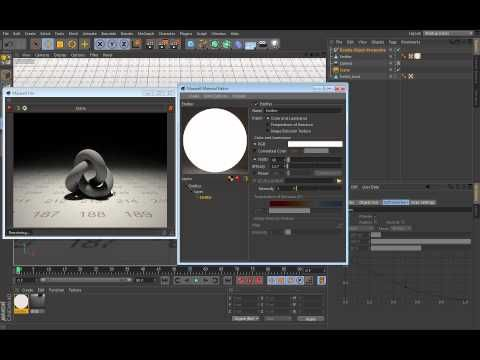 ▶ Maxwell Render for Cinema4D tutorials-06_Custom_materials. - YouTube