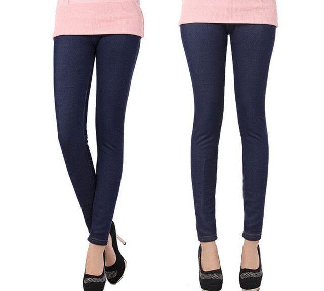 2015 зимние леггинсы женщины загущающие теплые брюки мода рун внутри джинсовые брюки лосины с карманами LG 173 купить на AliExpress