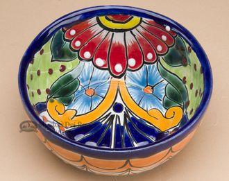 Hand Painted Talavera Salsa Bowl (p477)