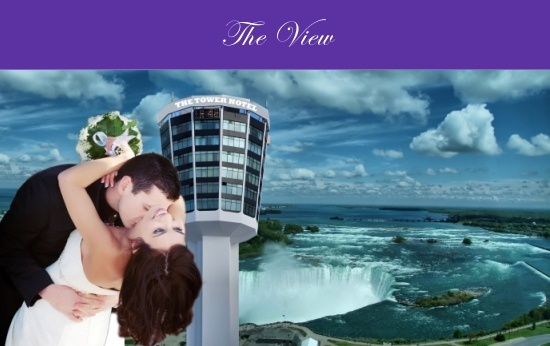 Check out that View @ The Tower Hotel in Niagara Falls Ontario Canada