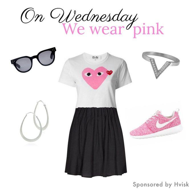 Styling by johanneappel - Hvisk Stylist Community #hvisk #hviskstylist #hviskjewellery #fashion #outfit #jewellery #jewelry #johanneappel #silver #earrings #ring #pink #shoes #commesdesgarcons #sunglasses #quote #meangirls #girl #girly