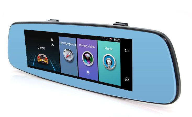 Decorative 1080P Full HD Car DVR Rear View Mirror Camera